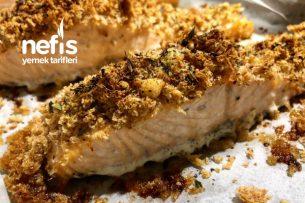 Parmesanlı Kıtır Somon Tarifi