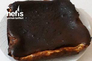 San Sebastian Cheesecake (Borcamda Kremasız) Tarifi