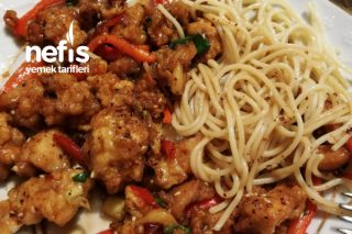 Tatlı Ekşi Soslu Nefis Tavuk (Çin Usulü) Tarifi