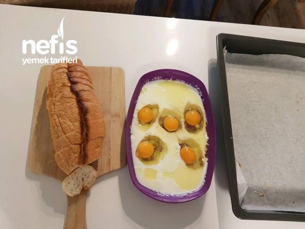 Yumuş Yumurtali Ekmek