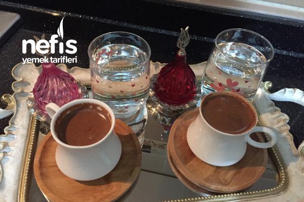 Çokokremli Türk Kahvesi Tarifi