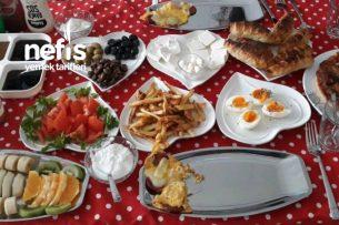 Kahvaltı Sofrası 3 Tarifi