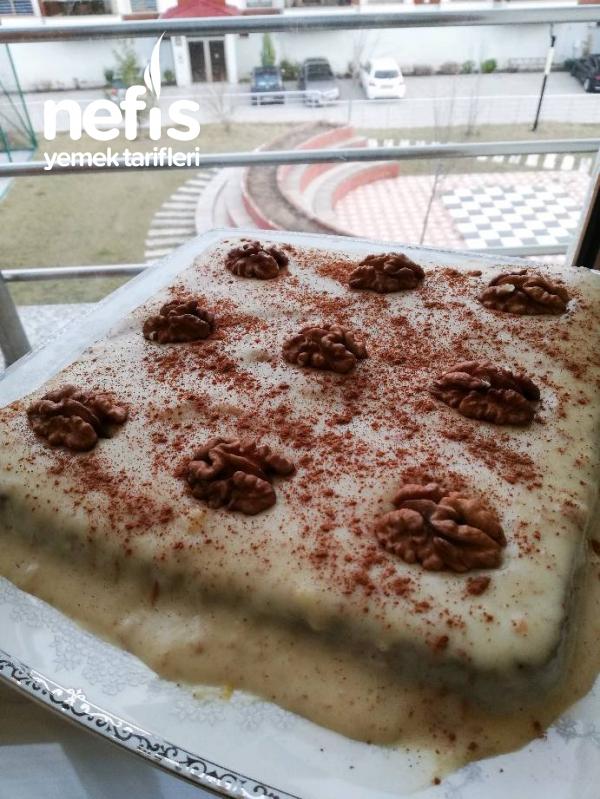 Kremalı Fit Kek
