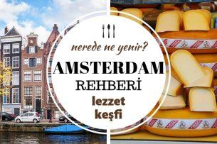 amsterdam'da ne yenir
