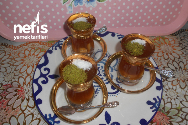 Çaylı Muhallebi Tarifi