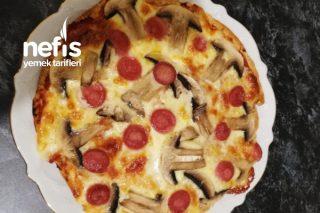 Dominosa Rakip Kolay Bazlama Pizza Tarifi