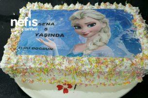 Evde Elsalı Doğum Günü Pastası Tarifi