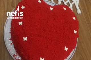 Kalpli Kadife Pasta (Velvet Cake) Tarifi