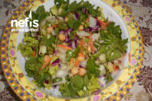 Nohutlu Kış Salatası Tarifi