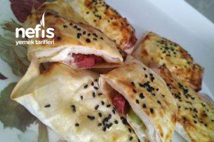 Zarf Pizza Böreği / Kahvaltılık Tarifi