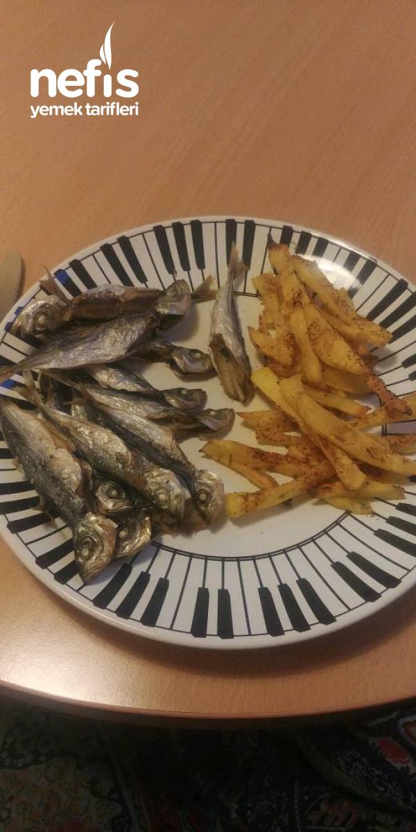 Fırında Balık Ve Patates