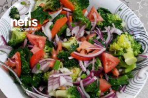 Kereviz Yapraklı  Brokoli Salatası Tarifi