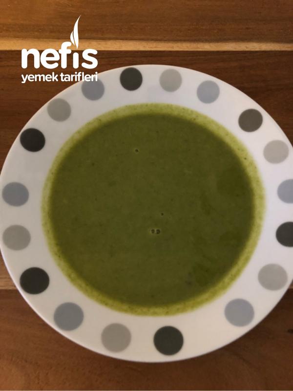 Ispanaklı Brokolili Çorba (bol Enerji)