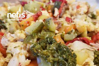 Kış Şifası (Fırın Poşetinde Brokoli Karnabahar) Tarifi