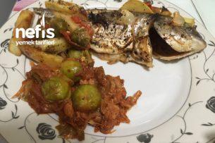 Nefis Fırında Çupra Balığı Tarifi