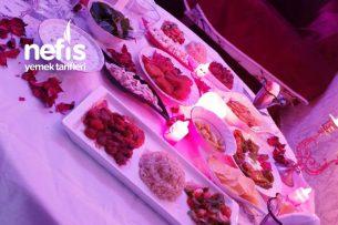 Romantik Doğum Günü Masası Tarifi