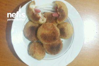 Tost Ekmeğinde Kaşarlı Salamlı Lezzet Bombaları Tarifi
