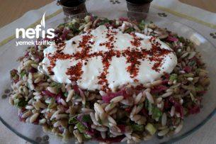 Yeşil Mercimek Salatası (Günlerinizin Baştacı Olacak) Tarifi