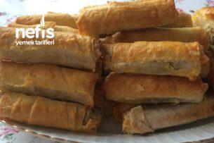 Yeşil Mercimekli Sigara Böreği Tarifi