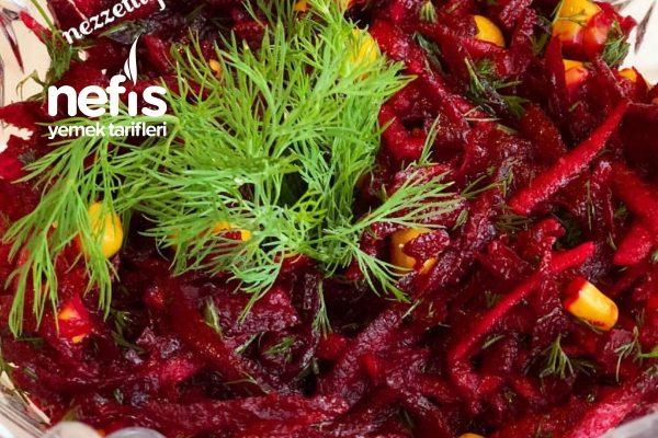 çiğ Kırmızı Pancar Salatası Nefis Yemek Tarifleri