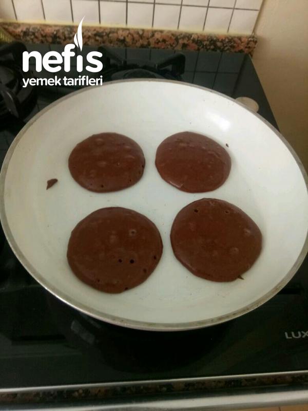 Çocuklarımıza Sağlıklı Çikolatalı Süt Burger