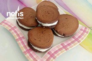Çocuklarımıza Sağlıklı Çikolatalı Süt Burger Tarifi