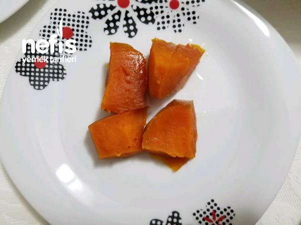 Lokum Kıvamında Kabak Tatlısı