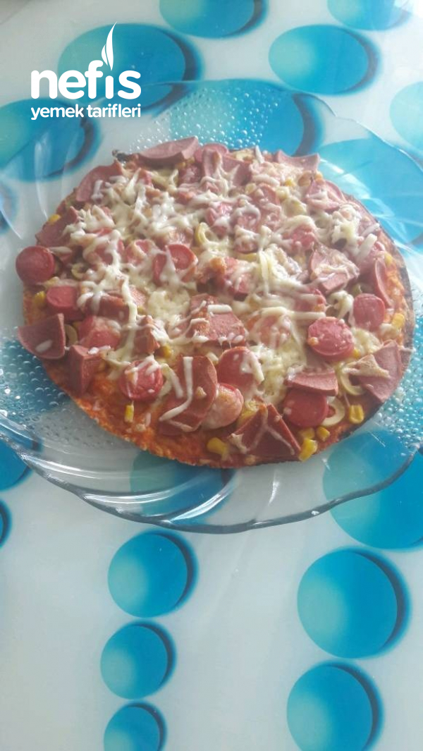 Pizza (lavaş Ekmekten)