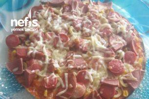 Pizza (Lavaş Ekmekten) Tarifi