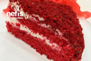 Red Velvet Cake (Kırmızı Kadife Kek) Tarifi