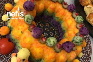Renkli Patates Salatası ( Fark Yaratın ) Tarifi