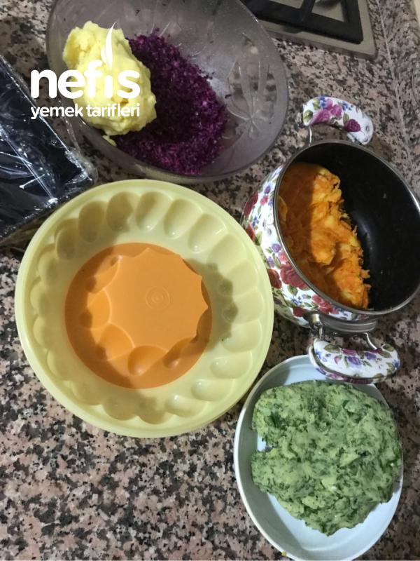 Renkli Patates Salatası ( Fark Yaratın )