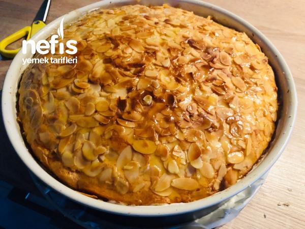 Bienenstich ~ Alman Pastası  35 dk da hazir