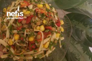 Erişteli Mercimek Salatası Tarifi