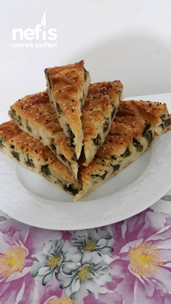 Ispanaklı Börek ( Ispanağın En Güzel Hali)