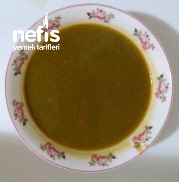 Ispanaklı Sebze Çorbası