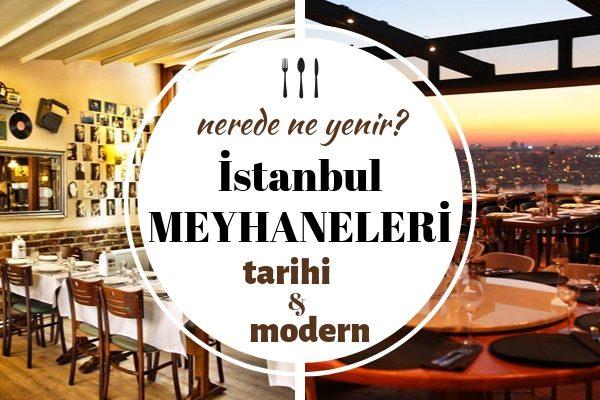 İstanbul Meyhaneleri – Felekten Bir Gece Çalabileceğiniz En Ünlü 10 Yer Tarifi