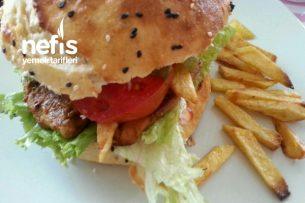 Nusret Ekmeğiyle Hamburger Tarifi