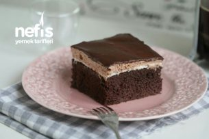 Nutella Kremalı, Çikolatalı Pasta Tarifi