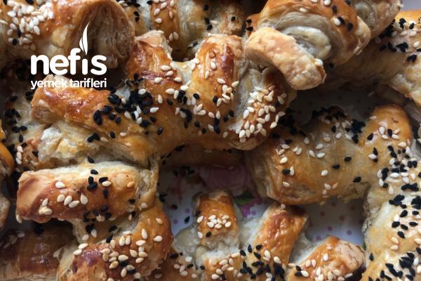 Şipşak Misafir Böreği (Peynirli Milföy) Tarifi