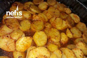 Teremyağlı Fırında Baharatlı Patates Tarifi
