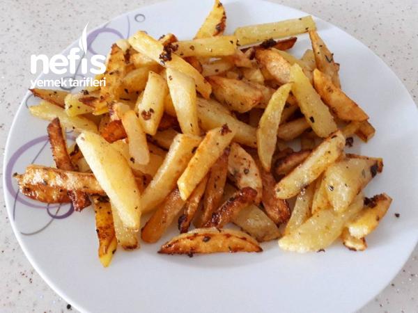 Teremyağlı Fırında Patates (çok Lezzetli)
