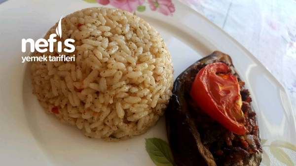 Teremyağlı Pirinç Pilavı