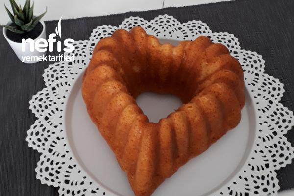 Teremyağlı Portakallı Kek