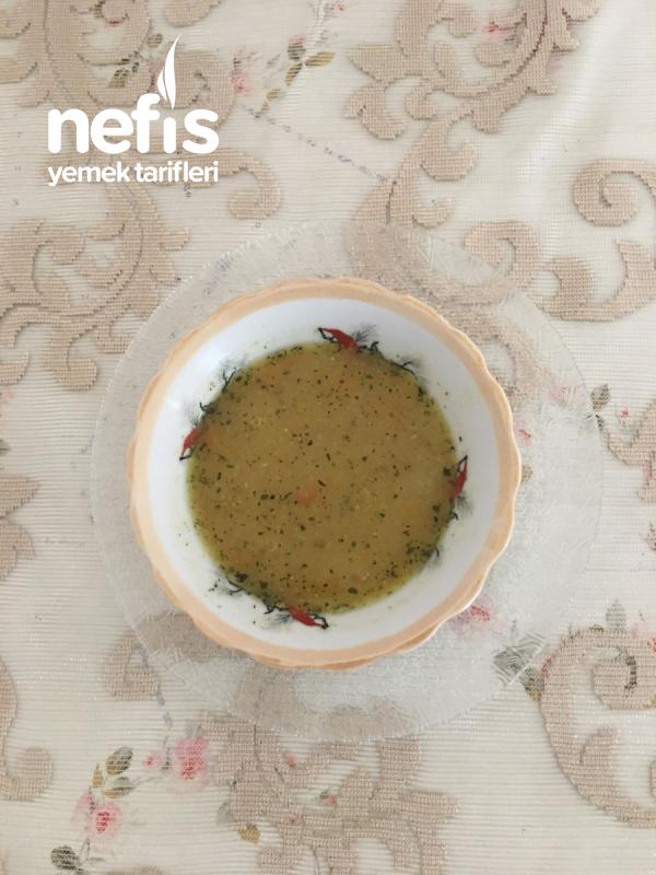 Teremyağlı, Sebzeli Mercimek Çorbası