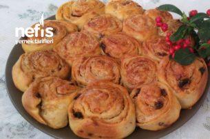 Teremyağlı Tahinli Cevizli Çörek Tarifi
