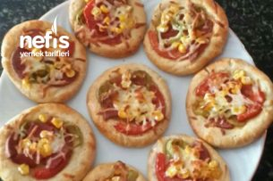 Teremyağlı Nefis Mini Pizza Tarifi