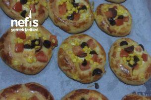Teremyağlı Mini Pizza Tarifi