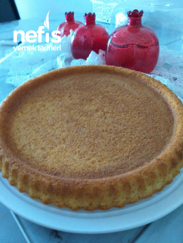 Portakal Kabuklu Kek Tart Kalıbında