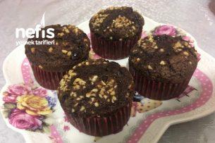 Teremyağlı Çikolatalı Muffin Pastane Tadında Tarifi